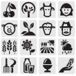 Royalty-Free Stock Vectorafbeeldingen: Farm set