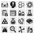 Stock Vector: Science icon set
