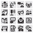 Social media icons — Stock Vector #12233346