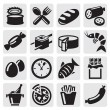 Food icons — Stock Vector #12285214