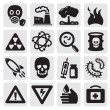 Pollution set - Stock Vector