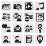 ������, ������: Social network set