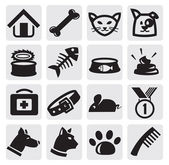 Dogs and cats set — Vecteur