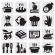 Stock Vector: Kitchen icons