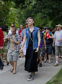 Trans March: Toronto's Pride Festival 2012 — Foto Stock