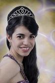 Glamorous young Latino woman — Stock Photo