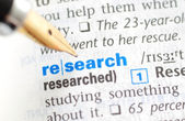 Research - Dictionary Series — Stock Photo