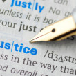 Stock Photo: Justice - Dictionary Series