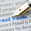 Fraud - Dictionary Series — Stock Photo