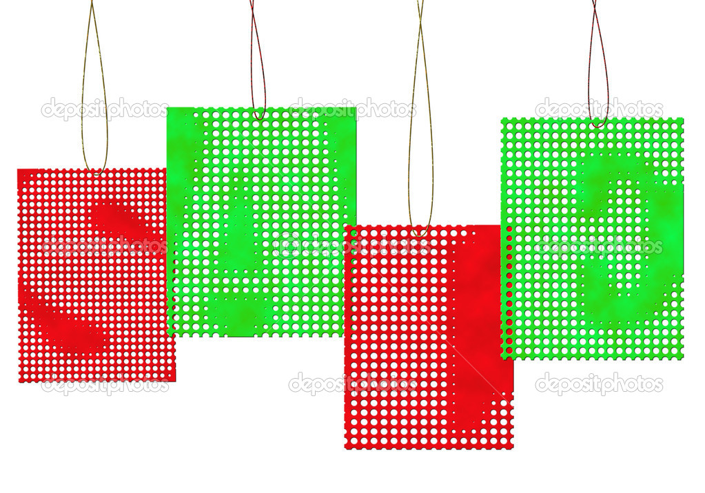 Colorful sale tags — Stock Photo #11817061