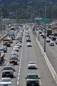Traffic jam in Coquitlam — Stock Photo