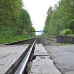 makro kolejowe — Zdjęcie stockowe