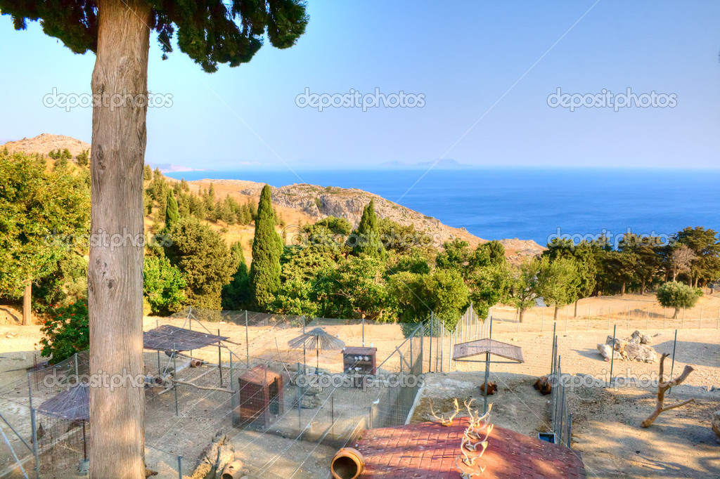Beautiful main Preveli Monastery Crete Greece summer  Stock Photo #11966944