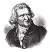 Antoine-Augustin Parmentier, vintage engraving. — Vetor de Stock