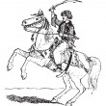 Mamluk, vintage engraving — Stock Vector #11008269
