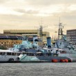 Stock Photo: Battleship Belfast