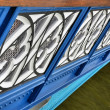 Stock Photo: Balustrade of the Tower Bridge