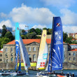 Extreme Sailing Series Porto July 2012 - Stock Photo