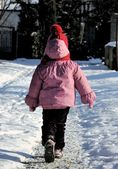 Child in wintertime — Stock Photo