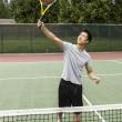 Tennis Overhead Volley — Stock Photo #10810471