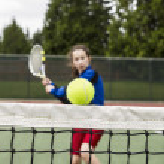 Tennis Drop Shot — Stock Photo