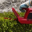 Stock Photo: Power Hedger Trimming Hedges