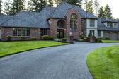Modern huis in de zomer — Stockfoto