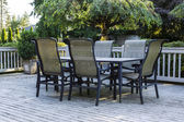 Open Patio during Summer — Stock Photo