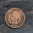 Old Penny — Stock Photo
