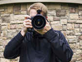 Male Photo Taker — Stockfoto