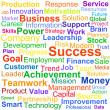 Word cloud business concept — Stock Photo #11091722