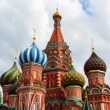 Saint Basil Cathedral on Red square, Moscow, Russia — Stock Photo