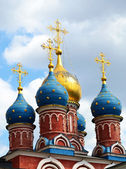 Russian Church, Moscow, Russia — Stock Photo