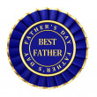 Award best father — Stock Photo
