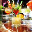 bunte cocktails — Stockfoto #10738708