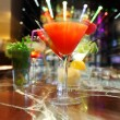 Foto Stock: Colorful cocktails