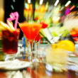 Colorful cocktails - Foto Stock