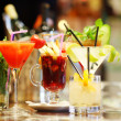 Colorful cocktails — Foto de stock #10738714