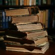 Books on table — Stock Photo