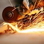Metal sawing — Stock Photo #10888073