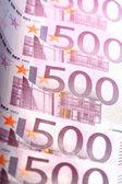 500 euro — Stock Photo