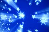 Technika niebieskie gwiazdy — Zdjęcie stockowe