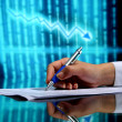 Financial seminar — Stock Photo #10980254