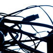 Connection wires — Stock Photo