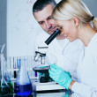 Scientist in chemical lab — Stock Photo #11017020