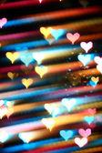 Motion heart — Stock Photo