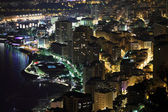 Монте-Карло ночь сцена — Стоковое фото