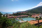 La spezia portu Liguryjskie wybrzeże Włochy — Zdjęcie stockowe