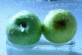Apple-waschanlagen — Stockfoto