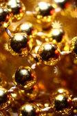 金色星星背景 — 图库照片